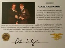 Chris Kyle American Sniper Signed Photo AUTO JSA Authentic Autograph THE LEGEND