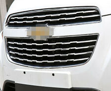6*tainless steel Front Center Grill Grid Trim For Chevrolet TRAX TRACKER 2013-16