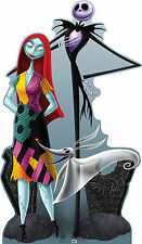 JACK&SALLY(NIGHTMARE BEFORE CHRISTMAS) LIFE SIZE STAND UP FIGURE FANTASY CARTOON
