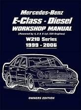 Mercedes-Benz Class E Car Service & Repair Workshop Manuals