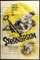 STRONGROOM NOIR Colin Gordon Original 1962 ONE 1-SHEET MOVIE POSTER 27 x 41""