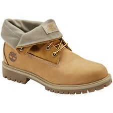 Timberland Heritage Roll Top Boots (Size 10.5 & 13) Wheat Nubuck