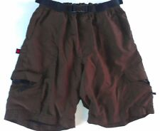 "Hoss Technical Gear Cargo Cycling Shorts Adult XS/S Padded Liner Bike 26"" Waist"