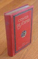 CONTES DE SCHMID Tome 1 / ILLUSTRÉ PAR G.STAAL - LIBRAIRIE GARNIER FRERES 1923