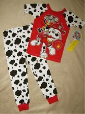PAW PATROL *Marshall to Rescue* S/S Shirt Pajamas Long Pjs Toddler sz 4T