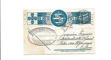 1937 Lautareue Portugal postal card to Lisbon