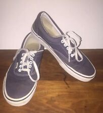 VANS Off the Wall Blue Skateboarding Athletic Unisex Shoes Sz