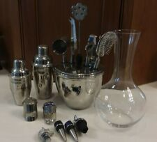 Bar Tools - Riedel Wine Decanter,  Shakers, Stoppers - Makers Mark and Dekyper