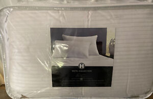 Hotel Collection Siberian White Goose Down STANDARD QUEEN Pillows Firm Support
