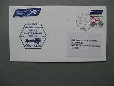 Netherlands, cover Ffc 2008, Amsterdam - Praha, single franking 75c bicycle