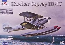 Hawker Osprey Mk III/IV (Royal Navy marcas) #241 1/72 Amodel Rara!