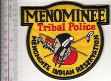 American Indian Tribe Police Department Wisconsin Menominee Tribal Reservation