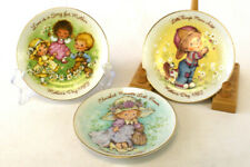 Set 3 Avon Mother's Day Collector Plates 1981 - 1983 Child Playing Love Cherish