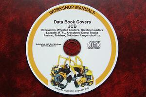 JCB All Models Service Data Book Manual 1992-2004 Loadall, Loader, Backhoe ETC