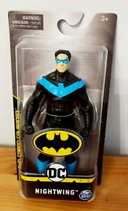 """NEW DC Nightwing 6"""" Action Figure - Batman Caped Crusader Series."""