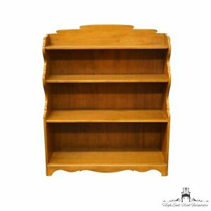 """CONANT BALL Solid Hard Rock Maple Colonial Style 38"""" Bookcase 4425-40057"""