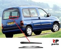 FOR CITROEN BERLINGO, PEUGEOT PARTNER 02-08 NEW REAR WIPER ARM WITH 400 MM BLADE