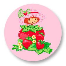 Porte clé Keychain Ø45mm Charlotte aux Fraises Fraisinette Strawberry Shortcake