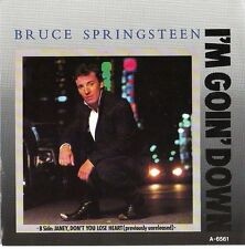 """BRUCE SPRINGSTEEN I'm Goin' Down PICTURE SLEEVE 7"""" 45 rpm vinyl record BRAND NEW"""