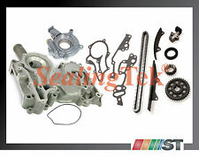 Fit 1978-82 Toyota 20R 22R Engine Timing Chain Gear Kit w/ Cover & Oil Pump set