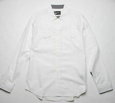 Hause of Howe Booty Clap Woven Shirt (M) Antique White N5W02AG