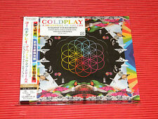 2017 JAPAN TOUR EDITION COLDPLAY A HEAD FULL OF DREAMS 2CD with Bonus Tracks