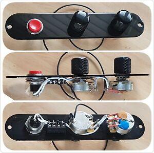 Fender Telecaster Tele custom control plate wiring loom harness upgrade kit