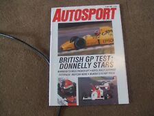 Autosport 6 July 1989 Kayel Graphics Rally Gordon Spice IMSA Pirelli Classic