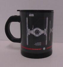 "STAR WARS ""TIE FIGHTER SELF-STIRRING MUG"" Plastic 16 oz coffee tea NEW"