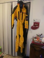 HELLY HANSEN EQUIPE Ski Snowboard Suit Helly Tech Snowsuit YELLOW used