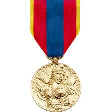 Médaille de la Défense Nationale Or neuve  / défnat ordonnance pendante def nat