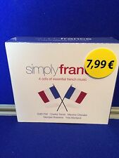 NEW SEALED Various Artists - Simply France (2006) CD Edit Piaf Charles Trenet