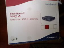 THOMSON SPEEDTOUCH MULTI-USER ADSL2+ GATEWAY  ROUTER - BOXED   - (R5)