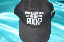 Hello California! Are You Ready To Rock? Baseball Cap, Black,OSFA,MPN 9106649000