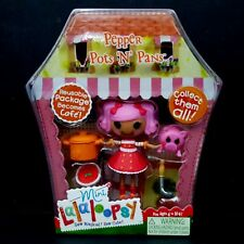 NEW Lalaloopsy Mini Doll Pepper Pots Pans Playset SEALED Series 2 Set 5