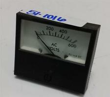 PANEL METER AC VOLTS 0-600 ES1mA DC