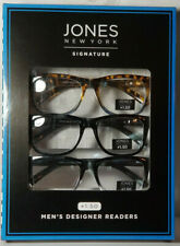 Jones New York Signature Readers Mens Glasses Black Tortoise +1.50