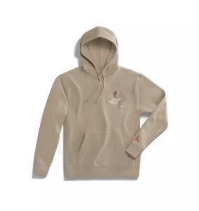 IN HAND - Nike Air Jordan x Travis Scott Cactus Jack Khaki Hoodie Size XL