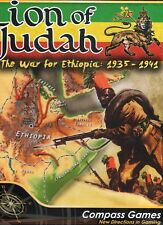 Compass Games Lion of Judah War for Ethiopia 1935-41 New shrink-wrap