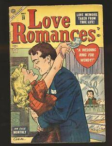 Love Romances # 39 VG Cond.