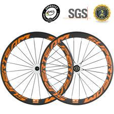 SUPERTEAM Carbon Wheels 50mm Road Bike Carbon Wheelset Shimano UD Matte 700C