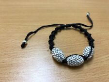20cm BRACELET WITH 3 CRYSTAL STONES UNWANTED GIFT COST $179