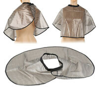 2020 NEW PVC Salon Barber Gown Cape Hairdressing Hair Cutting Waterproof Shawl~~