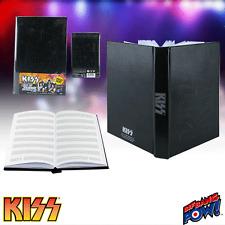 """KISS """"LIGHT UP JOURNAL""""with Music Manuscript Paper KISS LOGO LIGHTS UP NEW"""