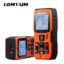 LOMVUM 60M Digital Handheld Laser Distance Meter Range Finder Measuring Measure
