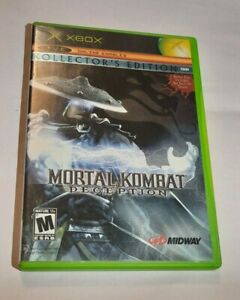 Mortal Kombat Deception Kollector's Edition Raiden Microsoft Xbox