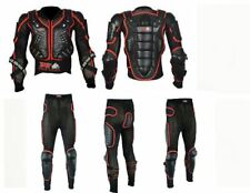 NEW MOTORBIKE MOTORCYCLE REFLECTIVE BODY ARMOUR PROTECTIVE WITH SAFETY TROUSER