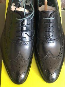 Ted Baker London Asonce Leather Shoe Black Size: 11.5 (UK 10.5)