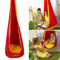 Kid Baby Child Hard Swing Chair Reading Nook Tent Hanging Seat Outdoor Hammock