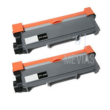 2pack High Yield TN660 Black Toner Cartridge For Brother MFC-L2705DW MFC-L2707DW